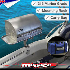 Wander Oz Marine Gas Tabletop Grill Complete Set - Silver