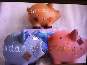 MINI PERSONALISED PATCH PIGGY BANK
