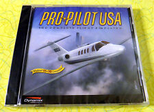 Pro Pilot USA ~ PC CD Rom Game ~ New Sealed ~ Flight Simulator ~ Jet Plane