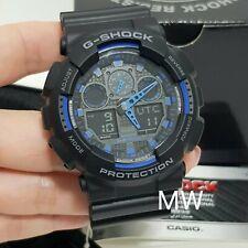 Casio G-Shock Velocity Indicator X-Large Series Men's Watch GA-100-1A2 GA100 NEW