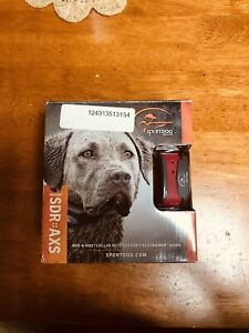SportDOG SDR-AXS Extra Collar for SD-425X SD-425XS SD-825X SD-1225X Open Box.