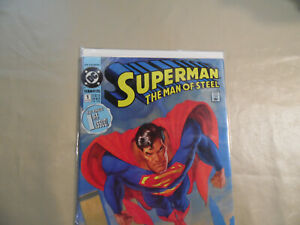 Superman Man of Steel #1 (DC 1991) Free Domestic Shipping
