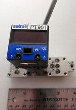 Setra PT90 O-Ring Manifold Digital Pressure Sensor 2271Z02PCE5ZZZZFV2 Hytron