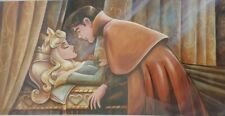 Art of Disney Parks Sleeping Beauty Kiss Deluxe Print by Darren Wilson New