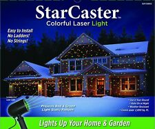 NIB StarCaster Colorful Laser Light Christmas Red & Green