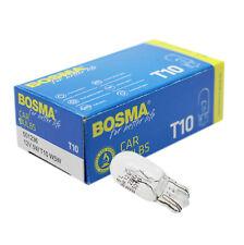 10 x Lampe Birne Bosma T10 W5W 12V 5W Glassockel Premium E-Geprüft Standlicht
