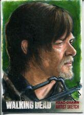 Walking Dead Season 4 Part 1 Sketch Card By Potratz & Hai