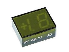 Vqe22f verde 1 1/2st ellige 7-segmento-indicador LED luz pozo visualización vqe 22 f nuevo