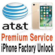 Premium Factory Unlock Code Service AT&T att iphone 7 7+ Plus 6S 6S+ SE 6 6 5S 5