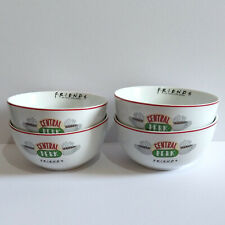 Friends TV Show Central Perk Cereal Bowls x 4 - New.
