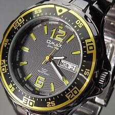 Analoge OMAX Armbanduhren aus Edelstahl