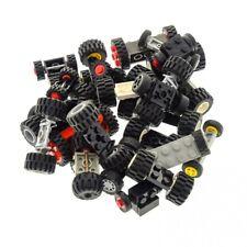 30 Lego Achsen mit 60 Rad Räder Form gemischt