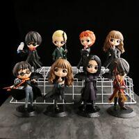 "HARRY POTTER - Big Eyes figures Hermione Snape Ron cute PVC Model Toys Doll 5"""