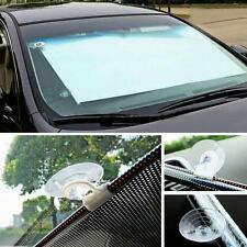 Retractable Folding Car Curtain Sunshade Front Window Shade Windshield  Visor