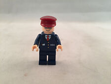 Lego Mini Figures Spiderman Subway Train Conductor