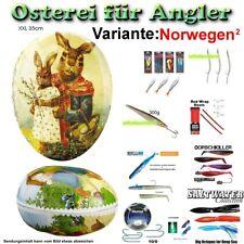 XXL 35 cm Osterei für Angler    Variante: Norwegen 2