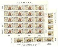 Denmark Faroe 1992 klb 231-32 ** Europa Cept Schiffe Ship Christopher Columbus