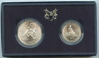 1995 Civil War Battlefield Two-Coin Uncirculated Set US Mint OGP Commem - BP570