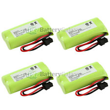 4 Cordless Home Phone Rechargeable Battery for Uniden BT-1008 BT1008 1,300+SOLD