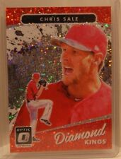 Chris Sale 2017 Panini Donruss Optic WHITE SPARKLE Diamond Kings SSP Holo