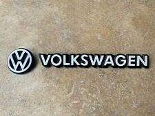 Mk1 Golf GTI Cabriolet Sportline Rivage REAR Badge SET in WHITE