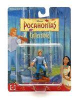 Vintage 1994 Disney Pocahontas John Smith Action Figure Toy by Mattel (NEW)