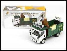TINY HONG KONG CITY 94 Isuzu NPR Demolition Truck NEW DIECAST CAR