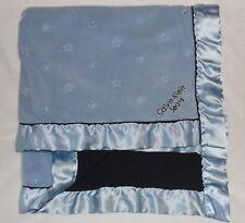 Calvin Klein Jeans Blue Baby Blanket Star Satin Trim