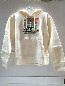 Danica Patrick # 7 Nascar Ladies Tan Hooded Sweatshirt, XL