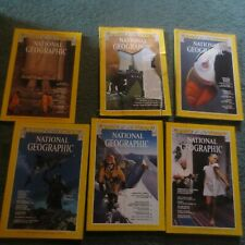 Pick From List: National Geographic Magazine 1974 1975 1976 1977 1978 1979