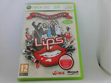 XBOX 360 X box Lips Spiel: Number One Hits - 40 Songs, inkl. Booklet, neuw.