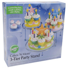 Wilton 307859 3Tier Cakes and Cupcake Stand