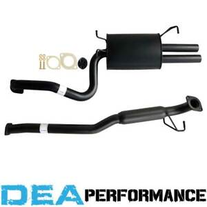 Ford Falcon FG XR6 Sedan 2.5 Inch Catback Sports Exhaust With Hotdog Twin Outlet