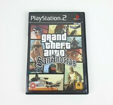 Grand Theft Auto: San Andreas - PAL - Sony Playstation 2 / PS2 Game