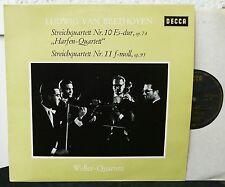 DECCA SXL 21107-B  Beethoven Streichquartett Nr 10 & 11  WELLER-QUARTETT