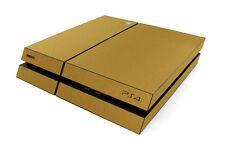ADESIVI PS4 SKIN ORO PlayStation4 Sony Stickers - GOLD Decal