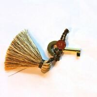 Key for Humidor Elie Bleu Gold with Tassel