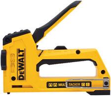 DEWALT Stapler Brad Nailer 5 In 1 Multi-Tacker Tool Lightweight Aluminum NEW