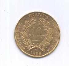 GOLD/ORO - FRANCIA MARENGO - 1899  - OCCASIONE