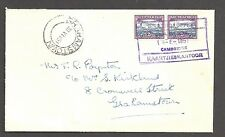SOUTH AFRICA 1951 (20 Jun) Rail Post - Cover to - 99585