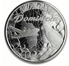 2019 silver Dominica Eastern Caribbean 1 oz ounce coin 2 Dollars new rare uncirc