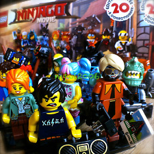 71019 LEGO NINJAGO MOVIE Minifigures COMPLETE SET 20 FACTORY-SEALED Minifigs