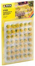 Noch 07026 - Grasbüschel XL blühend, gelb, Spur 0 / H0 / 1
