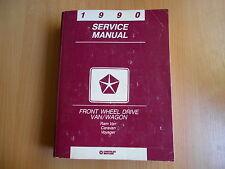 Werkstatthandbuch service manual Dodge Ram Van Caravan Plymouth Voyager (1990)