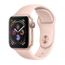 Apple Watch Series 4 40mm Gold Aluminum Case Pink Sand Sport Band (MU682LL/A)