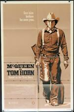 811 TOM HORN 1sh '80 they couldn't bring enough men to bring Steve McQueen down