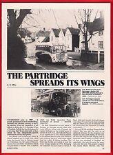 Buses Magazine Extract ~ Partridge & Son: Hadleigh - History & Fleet List - 1982