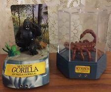 Lot of 2 1993 Trendmasters, Jungle Predator Gorilla, Scorpion Toys