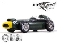 Vanwall VW57 №8 Formula-1 Stirling Moss 1957 Year 1/43 Scale Diecast Model Car