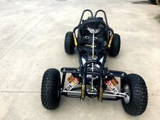 9HP 270CC GO KART SINGLE SEAT ADULT BUGGY QUAD ATV SUSPENSION WET CLUTCH BLACK